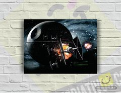 Placa Decorativa - Star Wars | Death Star