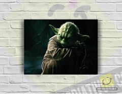 Placa Decorativa - Star Wars | Mestre Yoda