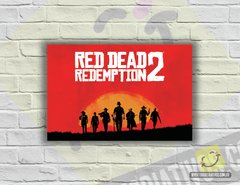 Placa Decorativa - Red Dead Redemption 2 | Game