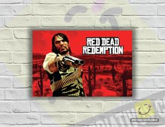 Placa Decorativa - Red Dead Redemption | Game