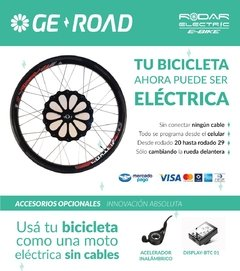 Brooklyn Roebling + Geroad. Efectivo 15% off - Rodar Electric
