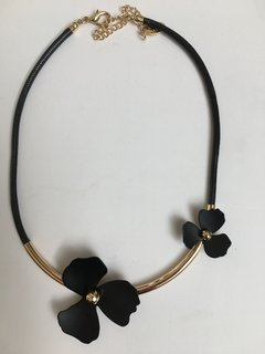 Collar My Flowers Black