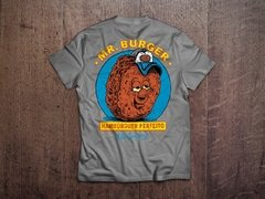 Camiseta Mr Burger Cinza