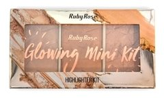 Paleta De Iluminadores Ruby Rose Glowing Mini Kit