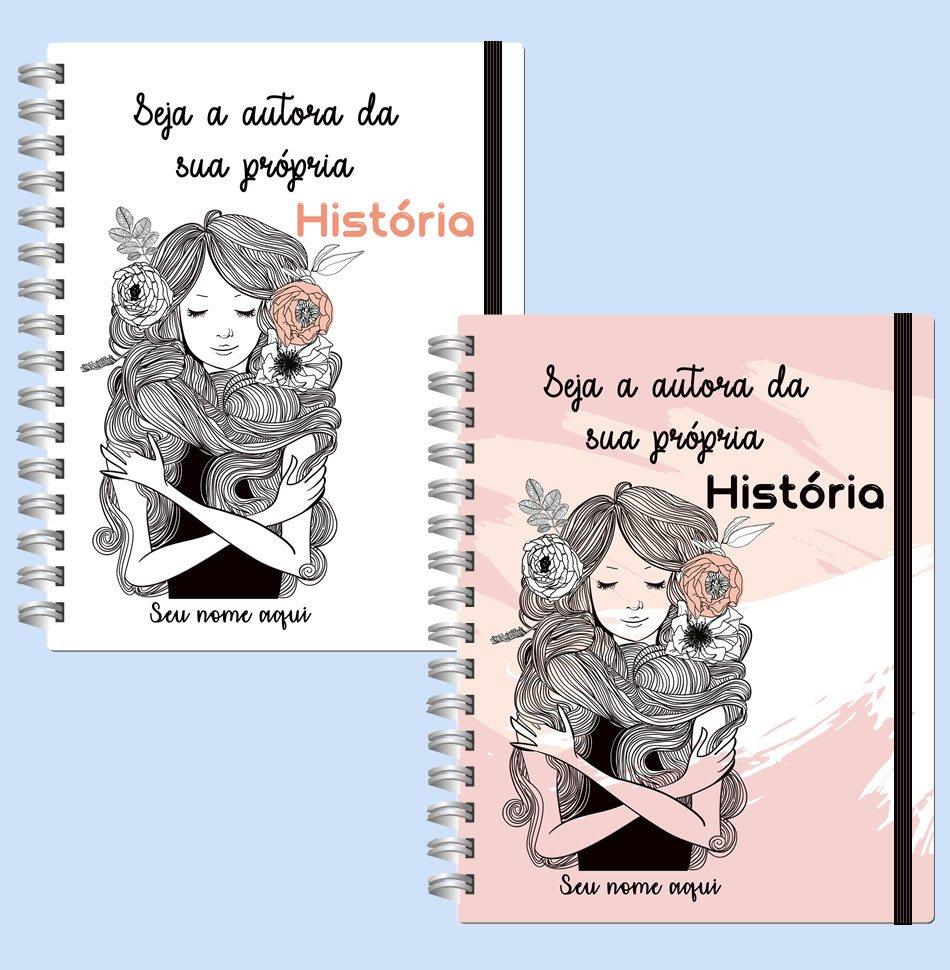 Caderno Com Frase Motivacional Personalizado
