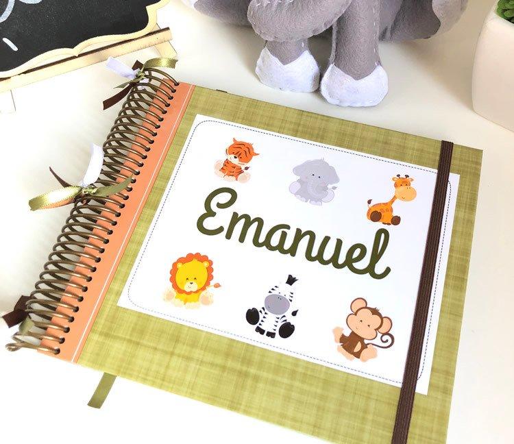 d50bdb233 Livro do bebê personalizado
