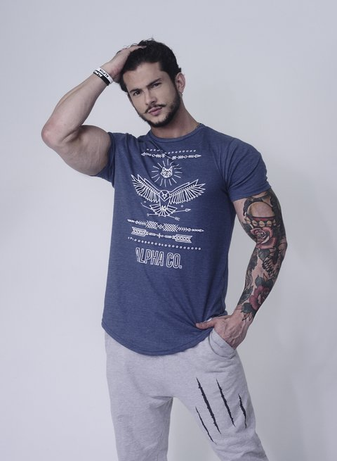 Camiseta Eagle Wolf Arrow