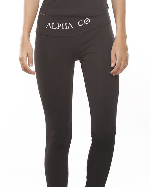 Legging Fitness Alpha Co. Preta