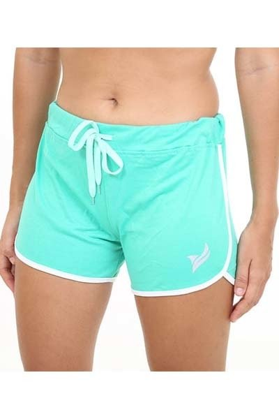Short Fun Verde com Branco - Roox
