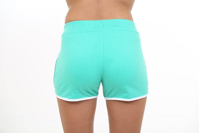 Short Fun Verde com Branco - Roox na internet