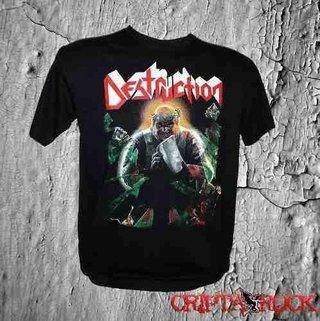 Camiseta Banda Rock Thrash Metal Camisa Destruction (sinc)