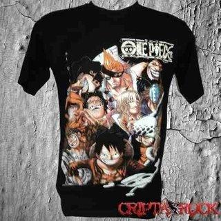 Camiseta Camisa One Piece (sinc)