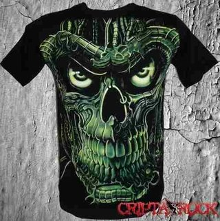 Camisetas Bandas Rock Games Heróis Caveira (sinc)