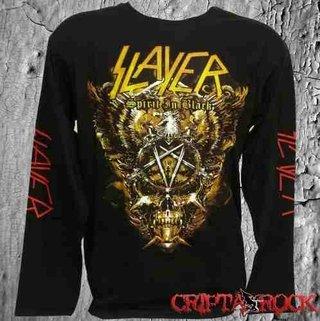 Camiseta Manga Longa De Banda Rock – Slayer (sinc)