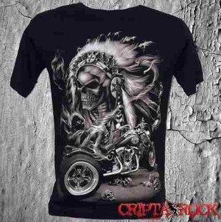 Camisetas Moto Motoqueiro do Inferno (sinc)
