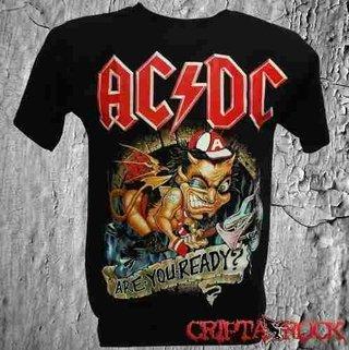 Camiseta Banda AC/DC (sinc)