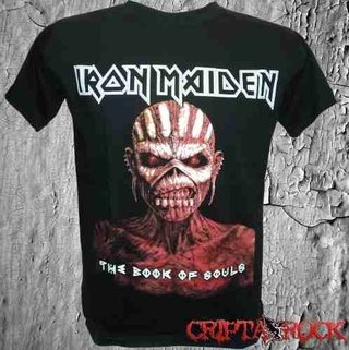 Camiseta Banda Rock Iron Maiden - The Book Of Souls (sinc)