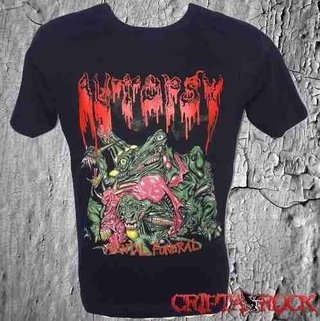 Camiseta Banda Rock Thrash Metal Autopsy