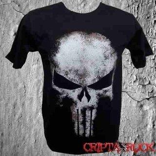 Camiseta Punisher Justiceiro 12 Anos (sinc)