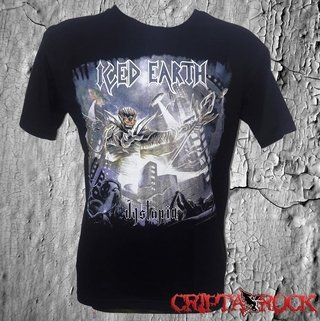 Camiseta Banda Iced Earth (sinc)