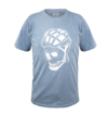 Camiseta Casual Masc Marcio May Skull Cyclist