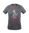 Camiseta Casual Masc Marcio May Zombie