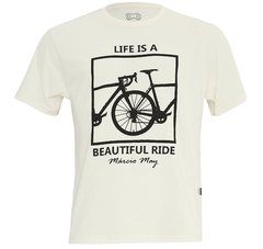 Camiseta Casual Márcio May Life is a Beautiful Ride