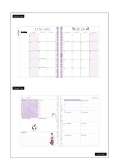 2020 Classic Happy Planner® x Rongrong - Life of the Party - 12 Months na internet