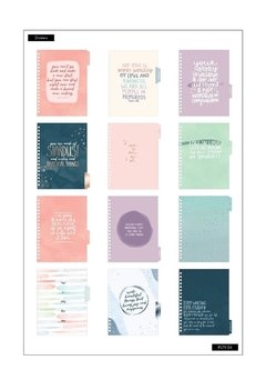 2020 Classic Twin Loop Happy Planner® - Be Well (Wellness) - 12 Months - comprar online