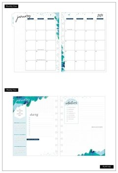 2020 Deluxe Classic Happy Planner® - Dreaming Stargazer - 12 Months - comprar online