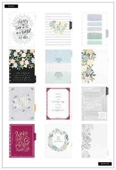 2020 Deluxe Classic Happy Planner® - Floral Homebody - 12 Months na internet