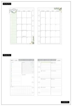 2020 Deluxe Mini Happy Planner® - Homebody Simplicity - 12 Months - comprar online