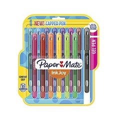 Paper Mate InkJoy Gel Pens Medium Point (0.7mm) Capped, 14 Count