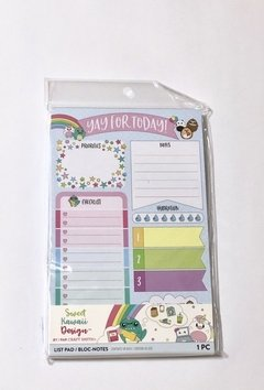Daily List Pad - Sweet kawaii Design