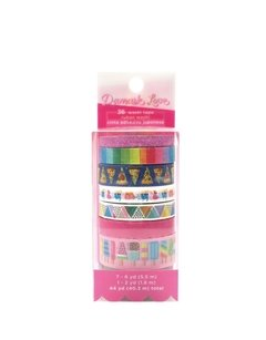 Damask love washi tape tube