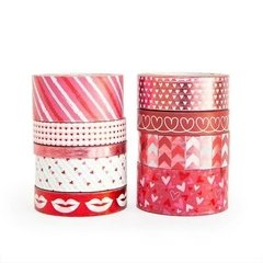 Be Mine Washi Tape Tube