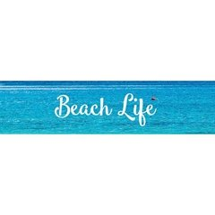 Silver Foil Beach Life - Little B.