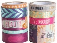 Boho Crafting Tape Tube