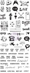 "Clear Stamps - ""V-Day"""