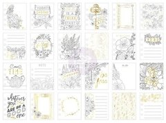 Coloring Journaling Cards - Be Free - comprar online