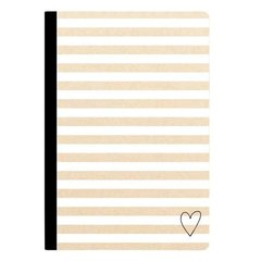 Composition Notebook - Kraft Stripe