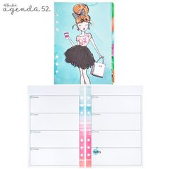 Watercolor Non-Dated Planner Inserts - 12 Month - comprar online