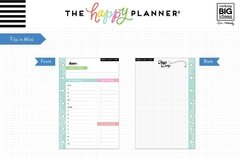 Daily Sheets Mini Happy Planner - comprar online