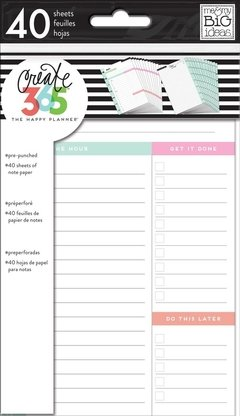 Daily Sheets Mini Happy Planner