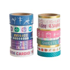 Fitness Washi Tape Pouch
