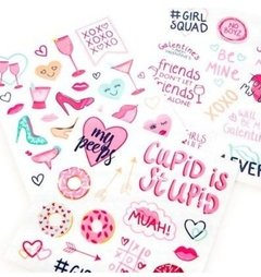 Galentine's Day Flat Stickers