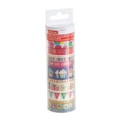 Happy Birthday Washi Tube - comprar online