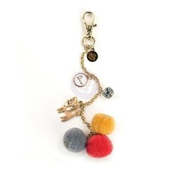 Kitty Cat Love Pom Pom Key Chain - comprar online