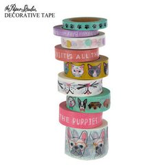 Must Love Pets Washi tape Tube