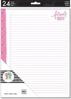 Neon Happy Life Fill Paper - BIG